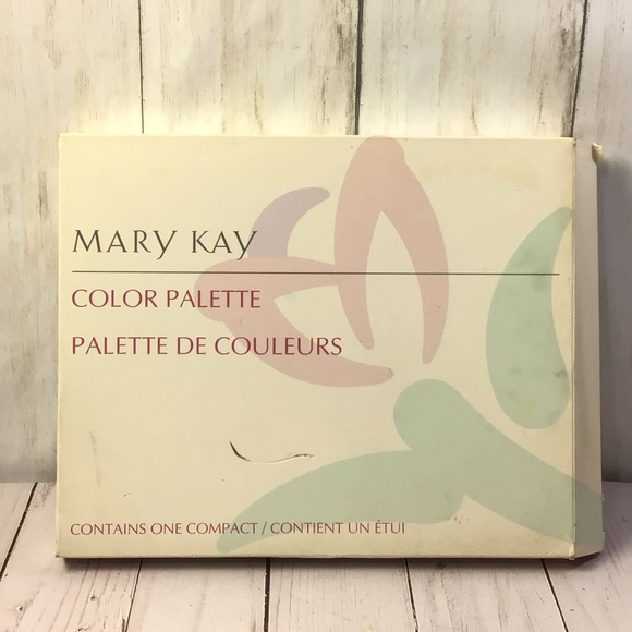 Mary Kay Color Palette Mirror Compact Unfilled